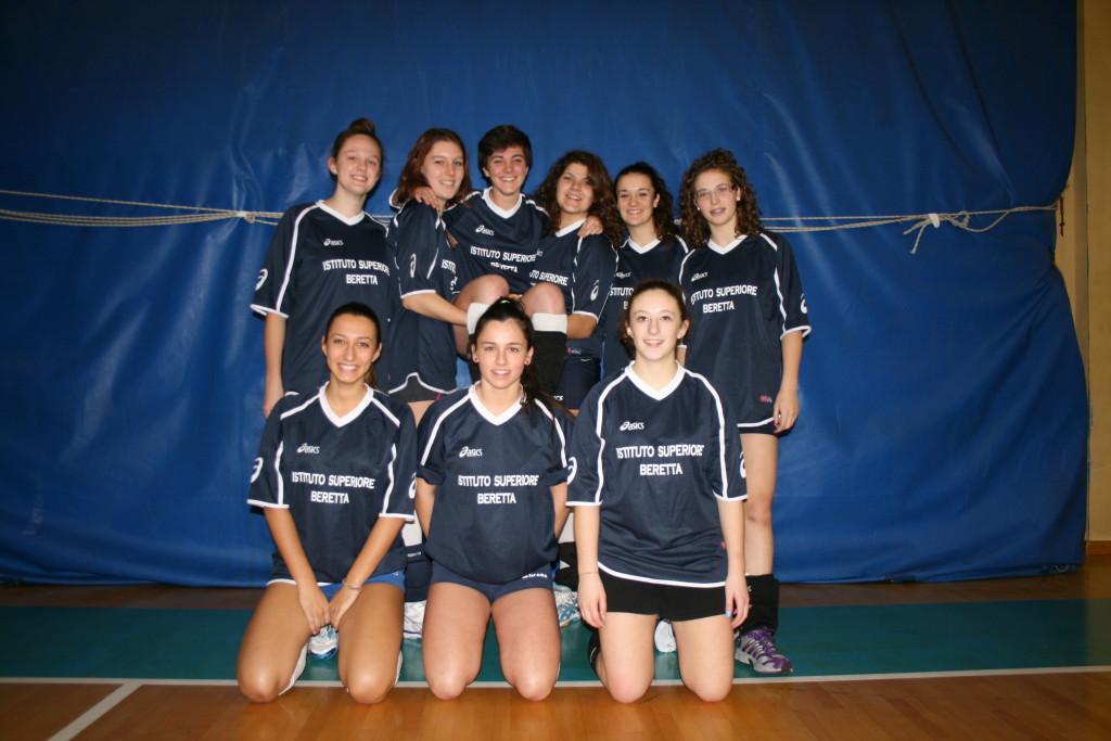 Squadra femminile LICEO